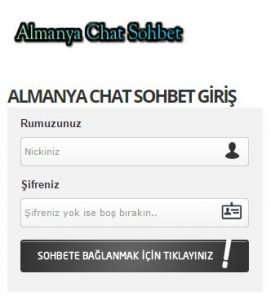 Almanya Chat Sohbet